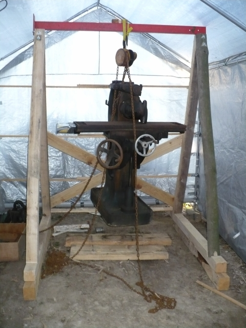 Super Fabriquer Un Portique En Bois. Installer Les Gardecorps With  SH22